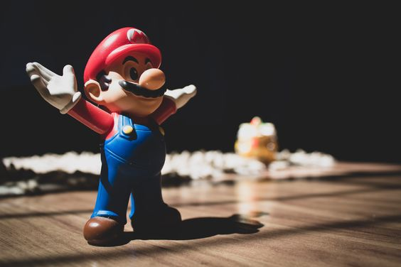 Mario the plumber from Nintendo