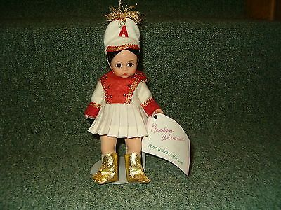 "Madame Alexander Doll Majorette 314 Doll 8"" Collector Doll Brown Hair Brown Eyes"