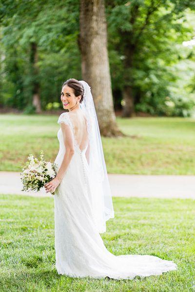 Low Back Wedding Dress With Veil : Ballroom wedding low back and ballrooms on