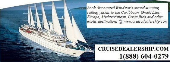 Sailing Yachts in the Caribbean, Greek Isles, Europe and Costa Rica ‣ Cruise Deals ‣ Cruise Discounts ‣ http://www.cruisedealership.com