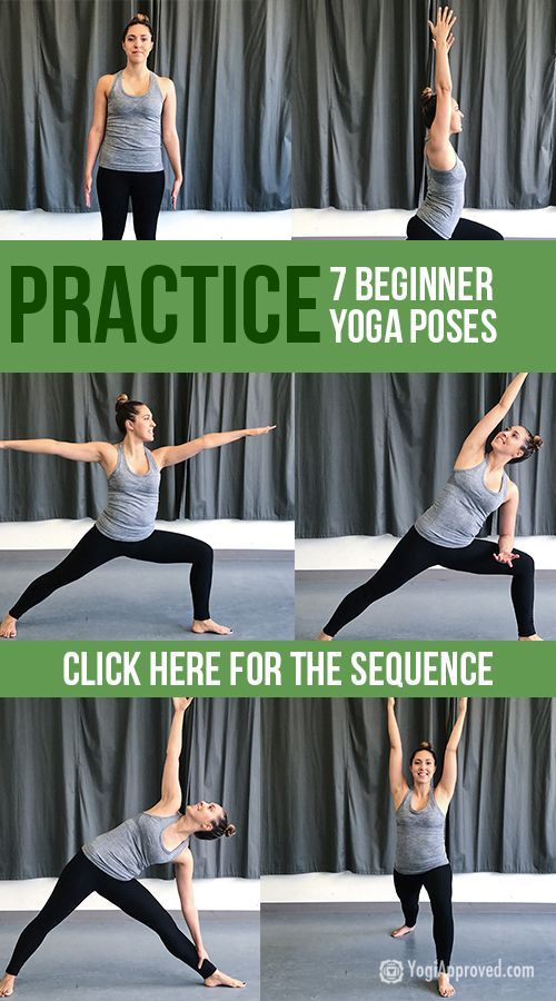 7 Standing Beginner Yoga Poses To Increase Strength And Flexibility Yoga Poses For Beginners Yoga For Beginners Standing Yoga