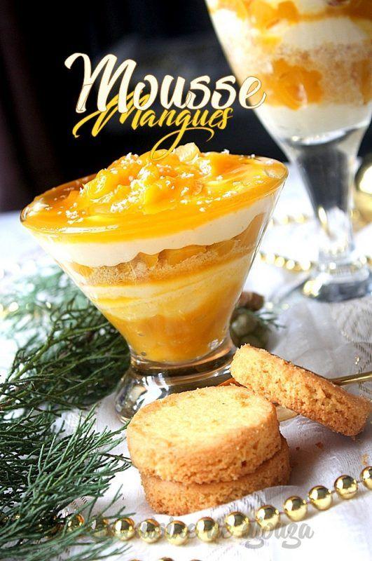 Mousse De Mangue à La Crème Mascarpone Recette Mousse à La Mangue Dessert Mangue Mangue