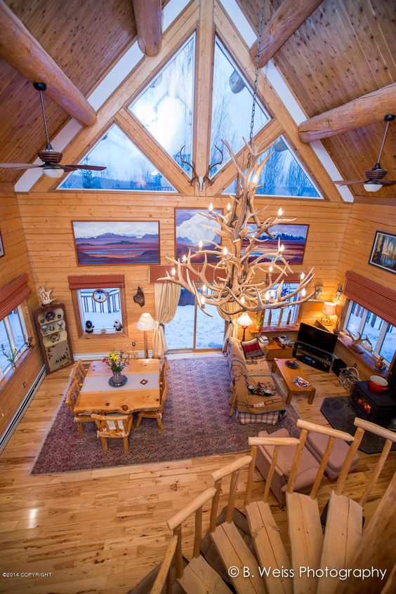 17 Best Images About Ak Alaska Log Homes For Sale Home