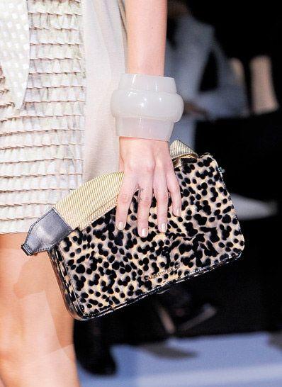 Wild Bag! Leopard Print #Bag Trend for Spring Summer 2013   Emporio Armani Spring Summer 2013
