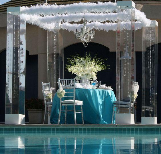 Altars Canopies Arbors Arches: Acrylic Wedding Chuppah Canopy Altar Arch Rentals Miami