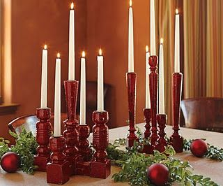 Turned into a Candlestick