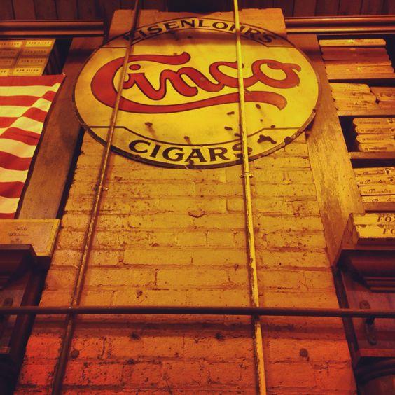 Vintage Cigar Signs 39