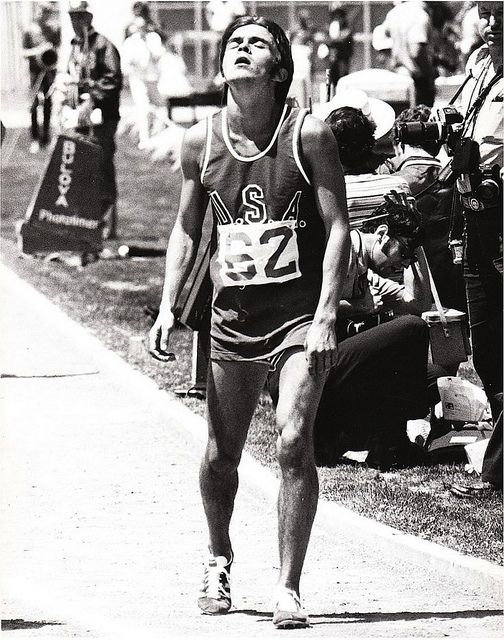 """A lot of people run a race to see who is fastest. I run to see who has the most guts, who can punish himself into exhausting pace, and then at the end, punish himself even more."" • Steve Prefontaine"