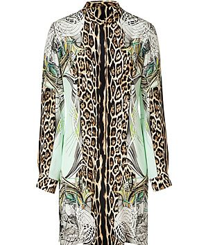 Roberto Cavalli Shirtdress