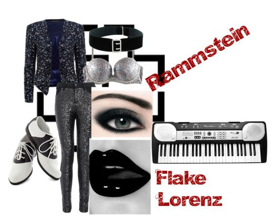 Flake Lorenz by slytheriner on Polyvore featuring Forever New, Quiz, Pinup Couture, Max Factor and H&M