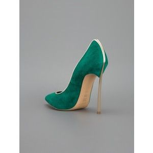 Casadei Contrast Stiletto Pump