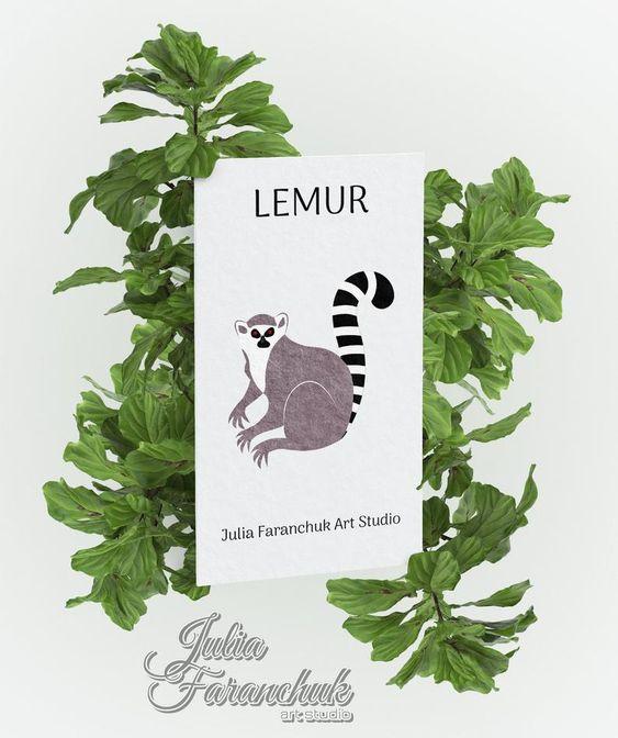 Jpg Eps Tribal Svg Png Lemur Cut File Clipart Wildlife Svg Dxf Cut File Zentangle Svg Vector Art Animal Svg Tribal Lemur Svg