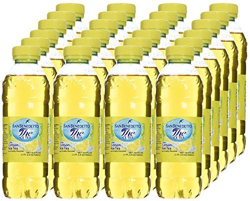 Pack Of 24 San Benedetto Lemon Ice Tea Click On The Image For Additional Details This Is An Affiliate Link Iced Tea Fresh Fruit Wine Bottle