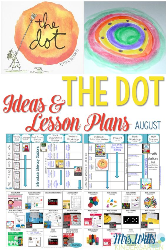 I love The Dot by Peter H. Reynolds. Swing by to see a week's worth of fun!