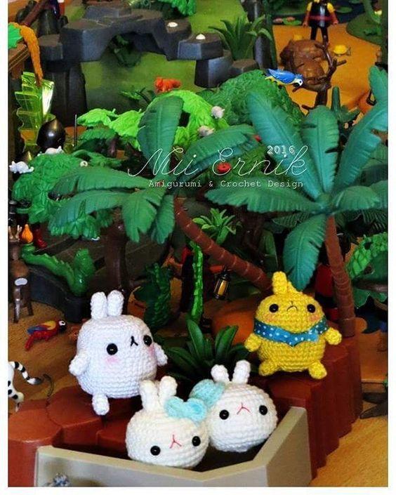 Good night!#molang #playmobil #amigurumi #Amigurumis #handmadedolls #crochetdoll #Creatief #nuiernik