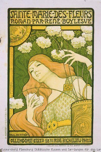 Sainte-Marie-des-Fleurs (1897) by Paul Emile Berthon (1872–1909):