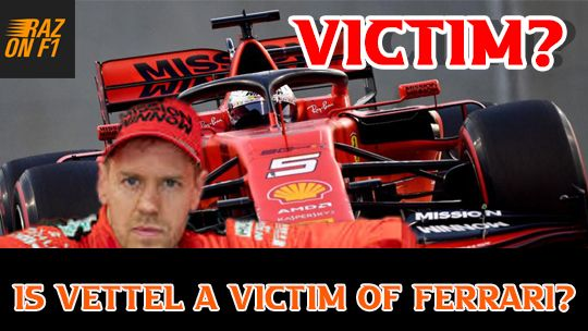 In This Video I Tell You Whether Sebastian Vettel Is A Victim Of Ferrari Sebastianvettel Ferrari F1 In 2020 Victims Ferrari Youtube Videos