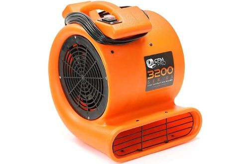 5 Cfm Pro Air Mover Carpet Floor Dryer 1 2hp Blower Fan Blower Fans Movers Fan