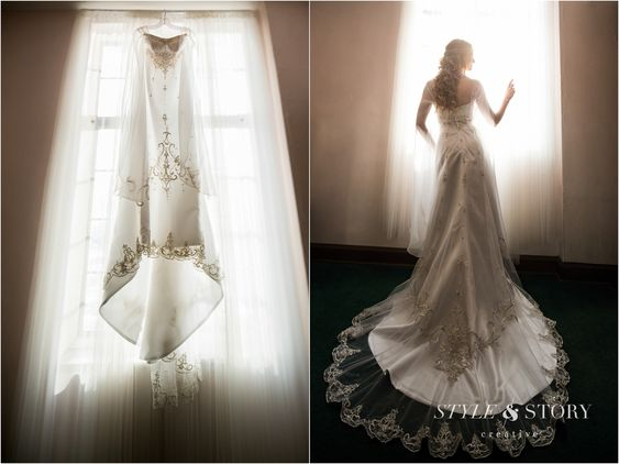 If The Ring Fits Asian Inspired Wedding: Wedding Dress Was Inspired By Twilight Princess Zelda And