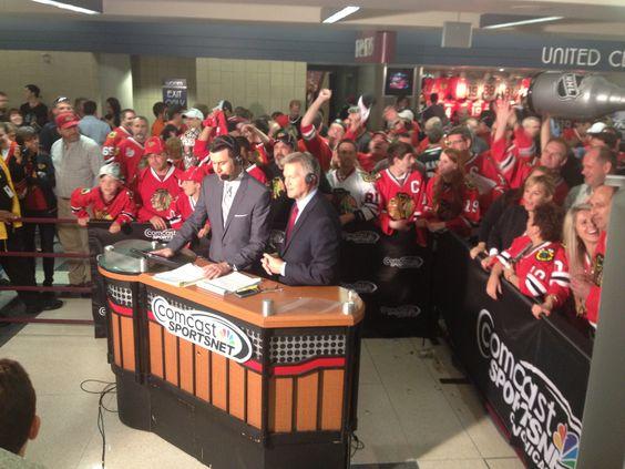 Comcast sportsnet blackhawks pinterest chicago summer and