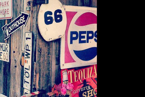 O grande letreiro Route 66 | P3