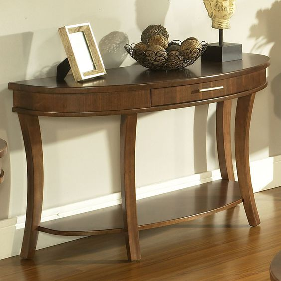 Gatsby Demilune Console Table by Somerton - (I know nothing about this company - Google search.)