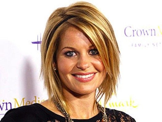 Love her and her hair!! Candace Cameron-Bure wants the Facebook haters to chill…