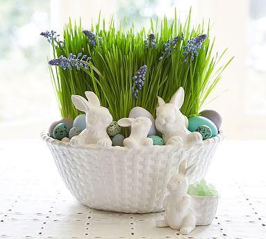Bunny Basket Serve Bowl