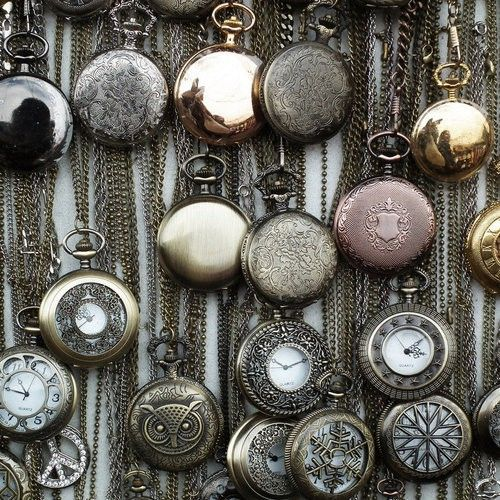 Ooh pocket watch love