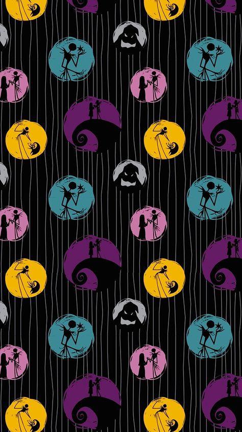 42 Trendy Wall Paper Christmas Disney Jack Skellington Nightmare Before Christmas Wallpaper Wallpaper Iphone Christmas Nightmare Before Christmas