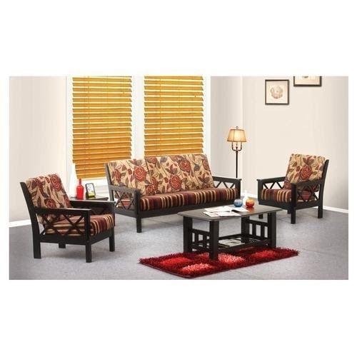 Damro Living Room Wooden Sofas Damro Wslr 003 1 1 Ms Larry Furniture Buy Furniture Online At Best Prices Furnitu In 2020 Sofa Come Bed Sofa Furniture Furniture Prices
