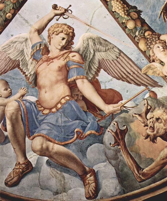 San Miguel Arcángel por Angelo Bronzino