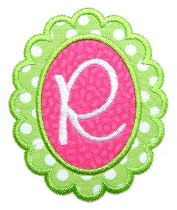 Machine Embroidery Design Applique Scalloped by GardenofDaisies, $3.00