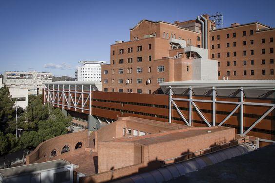 Hospital de la Vall d'Hebron / Estudi PSP Arquitectura (Barcelona, Spain) #architecture