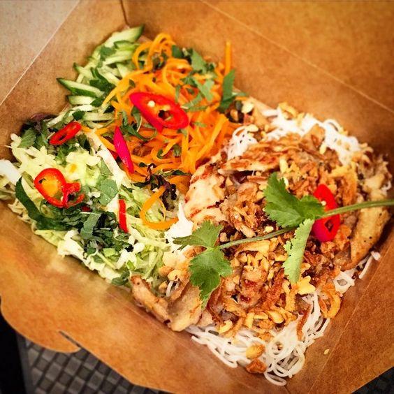 Bun thiet nuong @anjoykitchen #farringdon #london #england #uk  #food #gourmet #foodie #foodporn #foodstagram #foodiegram #foodphotography #foodgasm #instafood #foodlove | #shot with #Apple #iPhone6 | #nofilter