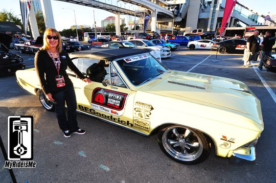 """Autocrossing """"Whimpy"""" 1966 Chevelle SS396 Convertible owned and raced by Lynda Jacobs. #OUSCI"""