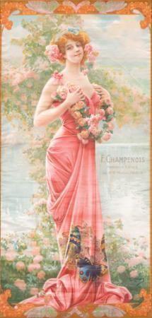 F. Champenois. ca. 1904.  GASPAR CAMPS (1874-1942)