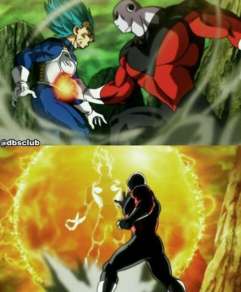 Vegeta Vs Jiren Dragon Ball Super Dragon Ball Z Dragon Ball Super Anime Love