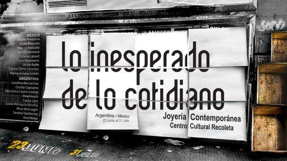 """""""Lo inesperado de lo cotidiano"""" 23 Junio 2016, 18HS"""