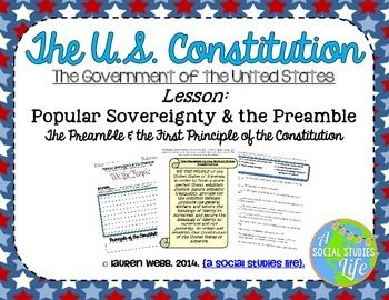 How does the preamble form the constitution?