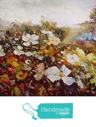 Clouds and flowers-Oil painting-Hand painted original landscape painting-Artwork for Home Decor-Order scenery paintings on canvas-Custom original painting-167 http://www.amazon.com/dp/B01AM85O0U/ref=hnd_sw_r_pi_dp_82-Lwb15B0SZF #handmadeatamazon