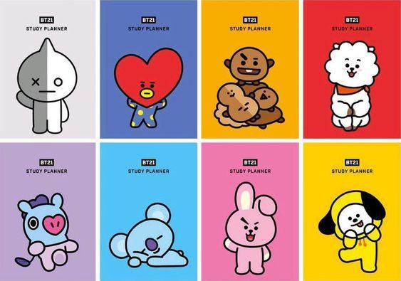 BTS防弹少年团和LINE FRIENDS携手打造【超萌BT21】x UNIQLO 的T恤系列!6月21日限量出售,这次别再错过了!