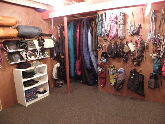 Nemo equipment blog the one gear closet to rule them all for Closet world garage