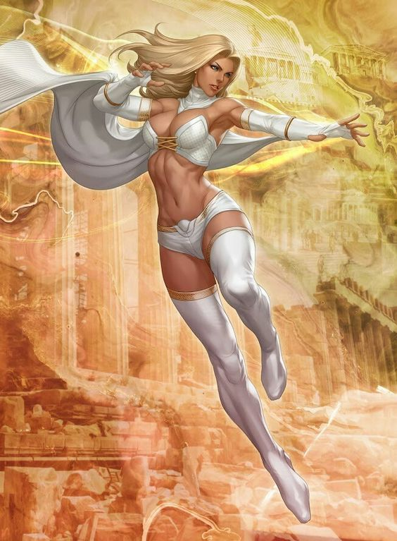 Emma Frost is one of my favorite X-Men of all-time. She's got a killer personality and I like her powers. Diamond form as well as being a very powerful telepath