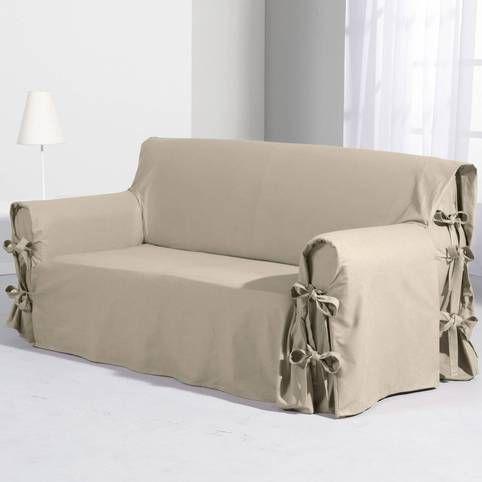 housse de canapé tertio Housse fauteuil et canapé extensible Tertio®   Gris  Vue 1  housse de canapé tertio