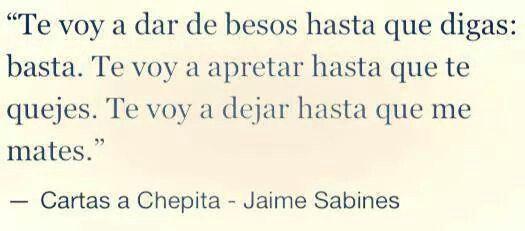 Jaime Sabines.
