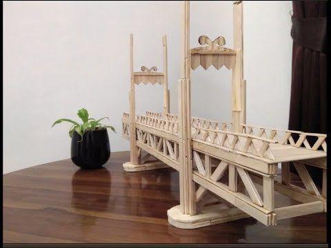 Langkah Langkah Membuat Jembatan Dari Stik Eskrim 1 Sediakan
