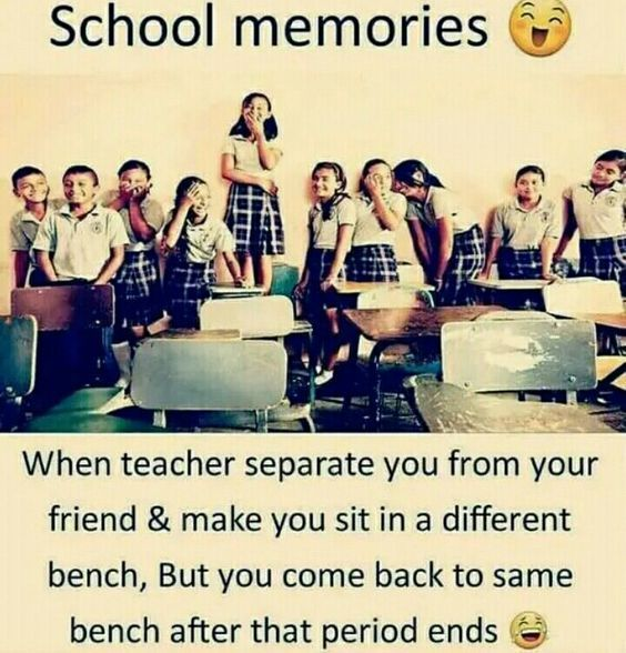 Funny School Jokes Images Funny School Memories Images Best Funny School Memories Status School In 2020 School Life Quotes Friends Quotes Funny Bff Quotes Funny