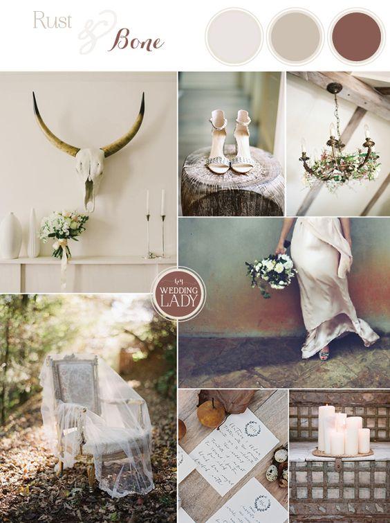 Rust Amp Bone Neutral Earthy Wedding Ideas