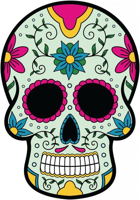 Calavera Tete De Mort Mexicaine 9 Mpa D Co T Te De Mort Pinterest Stickers